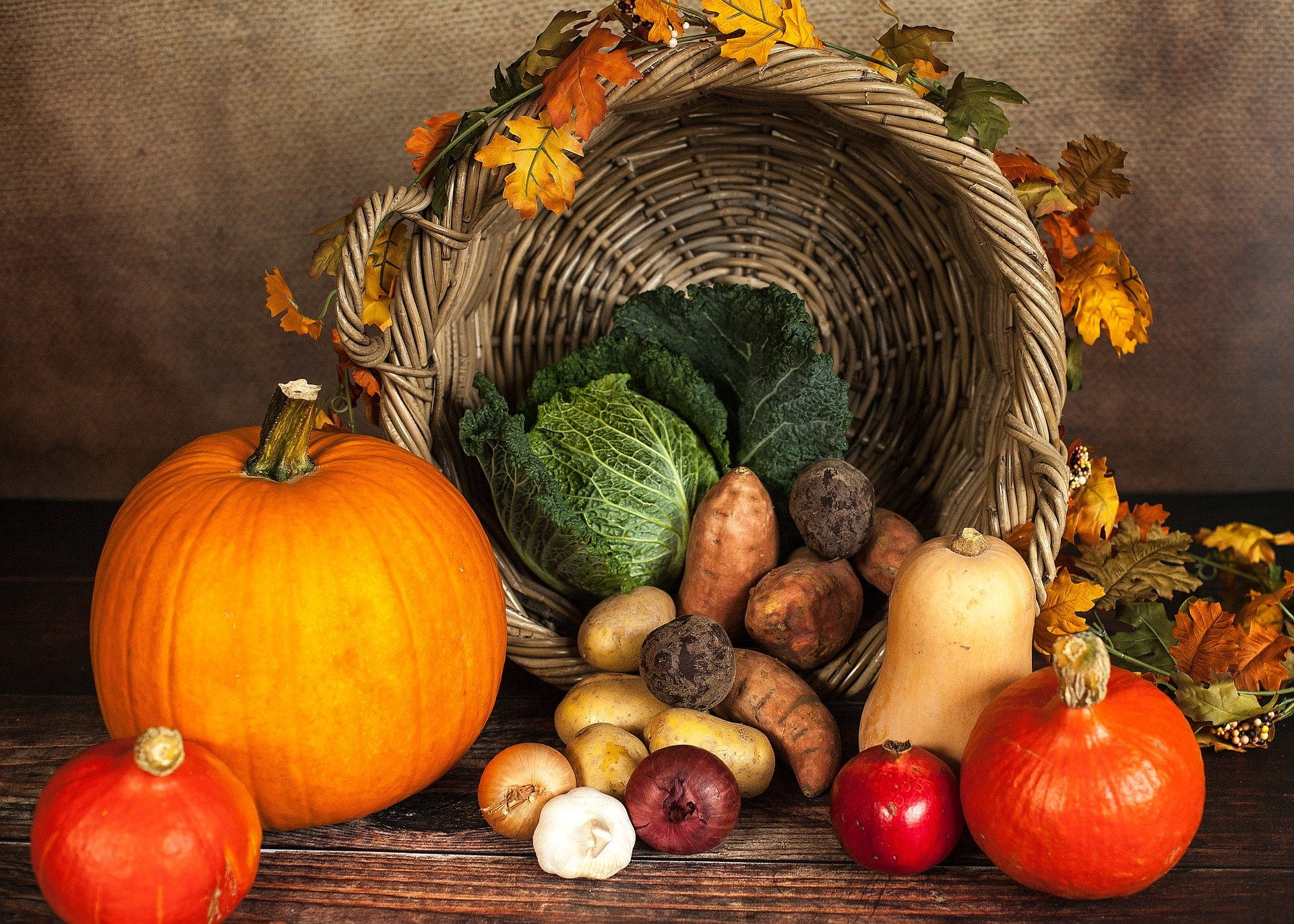 frutta e verdura autunno